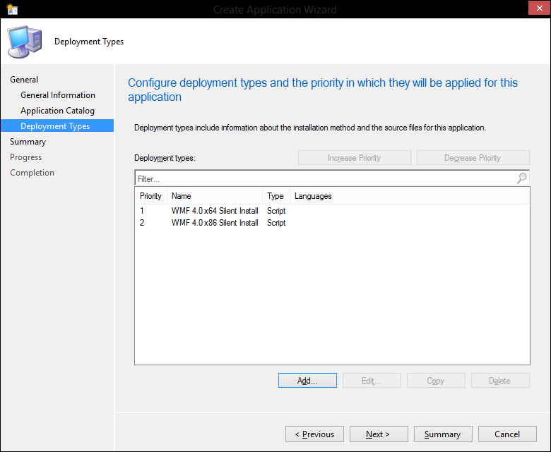 Windows Management Framework 4.0 with ConfigMgr