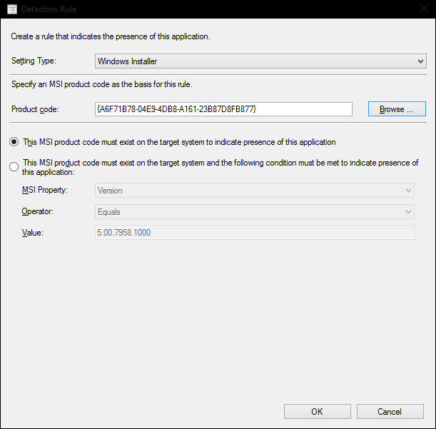 Deploying the ConfigMgr Console as a ConfigMgr Application